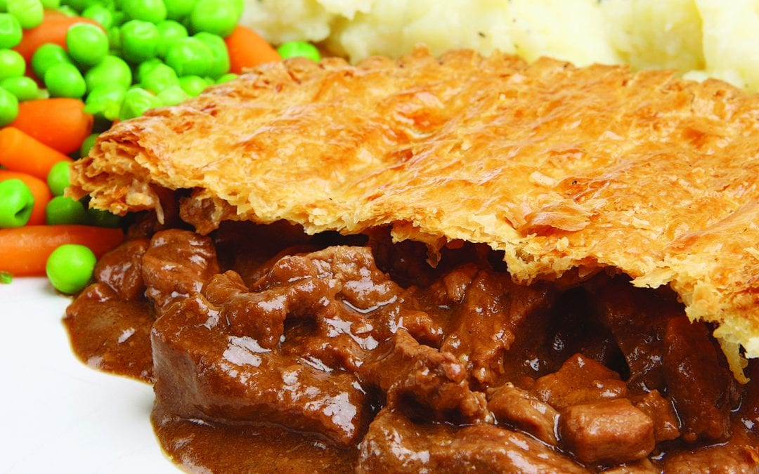 Mistake on the Steak and Ale Pie March issues (these are the correct ingredients)