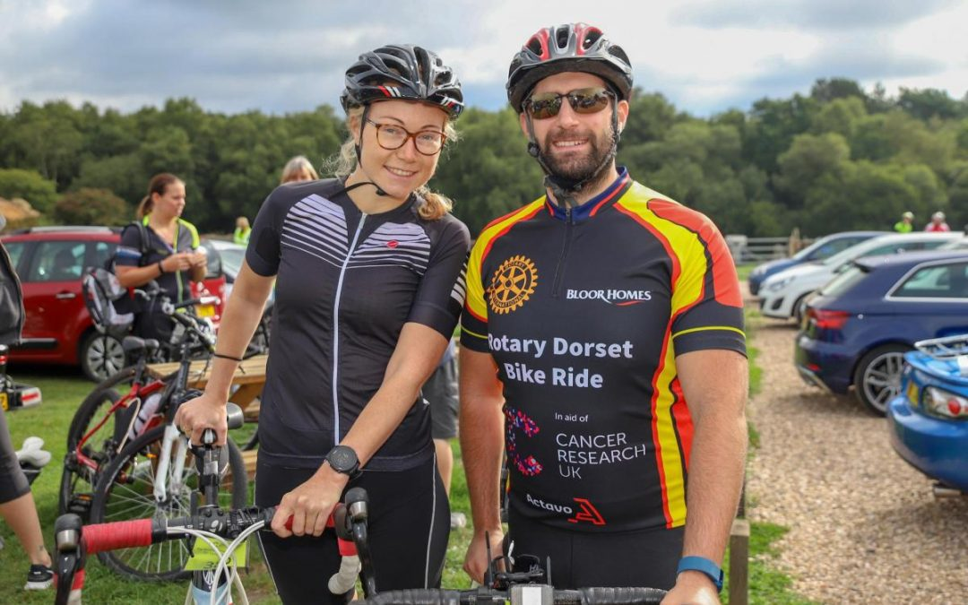 Rotary Dorset Bike Ride in support of Cancer Research UK takes place THIS Sunday
